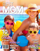 Best Mom Magazine Cover Template
