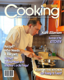 Cooking Magazine Cover Template