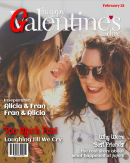 Galentine's Day Magazine Cover