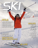 Personalized Skiing Magazine Cover