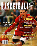 Personalized Basketball Magazine Cover