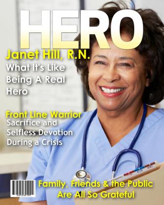 Personalized Hero Magazine Cover