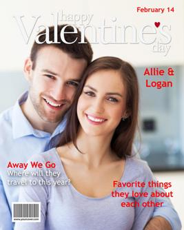 YourCover Valentines Day Magazine Cover