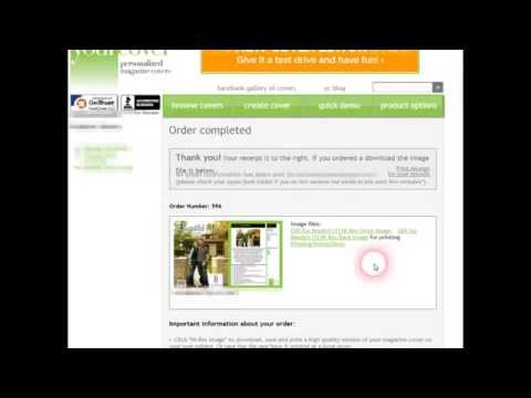 Embedded thumbnail for How to Save Your Magazine Cover Photo File Download (Chrome Browser)